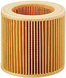 Kärcher Original Patronenfilter: 1 Stück, für Nass- und Trockensaugen ohne Filterwechsel,2-teilig, passgenau für Kärcher Mehrzwecksauger und Waschsauger, Artikelnummer 6.414-552.0