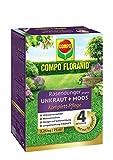 COMPO FLORANID Rasendünger gegen Unkraut + Moos Komplett-Pflege, 3 Monate Langzeitwirkung, Feingranulat, 2,25 kg, 75 m²