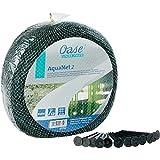 Oase 53752 Aquanet Teichnetz 2, idealer Schutz von Teichen vor runterfallenden Blättern und Laub, passend für Teiche bis max. 4 x 8 m, auch als Vogelschutznetz bei Bäumen und Sträuchern verwendbar