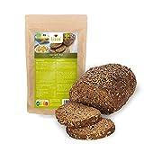 Lizza Low Carb Brot Backmischung 1kg   89% weniger Kohlenhydrate   Bio, Glutenfrei, Vegan   Keto & Diabetiker geeignet   Protein- & Ballaststoffreich   1 kg Packung (Brot für 2 Wochen)