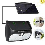 Cocoda Solarlampen für Außen, Solarleuchte Garten 48 LEDs [mit Trennbarem Solarpanel] Solar Gartenleuchte mit Bewegungsmelder, wasserdichte Solarlampe für Balkon, Lager, Patio, Deck, Hof, Außenwand