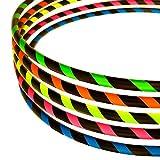 Hula Hoop Reifen für Anfänger, Ø90cm, Neon-Yellow