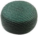 Meister Vogelschutznetz 10 x 5 m - grün - 12 x 12 mm Maschenweite - Robustes Gewebe - Witterungs- & UV-beständig - Zuverlässiger Schutz vor Vogelfraß / Engmaschiges Obstbaumnetz / Teichnetz / 9960090
