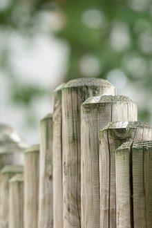 Garten Sichtschutz Holzzaun