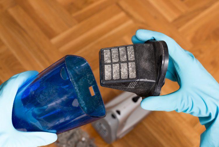 Allergiker aufgepasst - Handstaubsauger