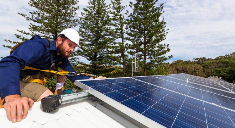 Solaranlagen im Garten