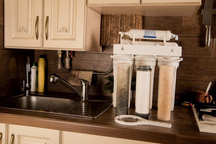 Umkehrosmose Wasserfilter System - Verschiedene Vorfilter