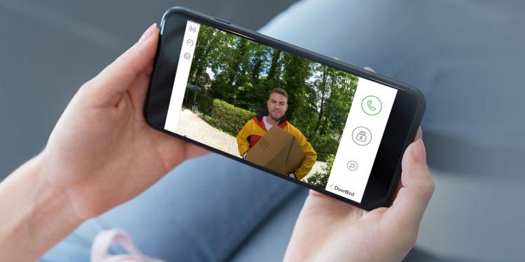 DoorBird Smartphone Steuerung